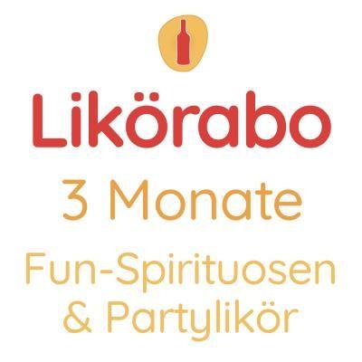 Likörabo 3 Monate | Fun-Spirituosen & Partylikör