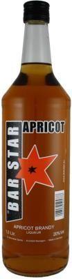 BAR STAR Apricot Brandy 1,0 l