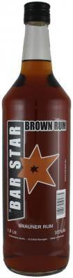 BAR STAR Brown Rum 1,0 l