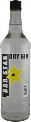 BAR STAR Dry Gin 1,0 l