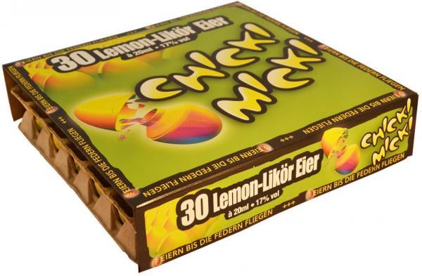 Chicki-Micki Eier Wodka Lemon 30er
