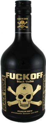 FUCKOFF Vodka black 0,7 l