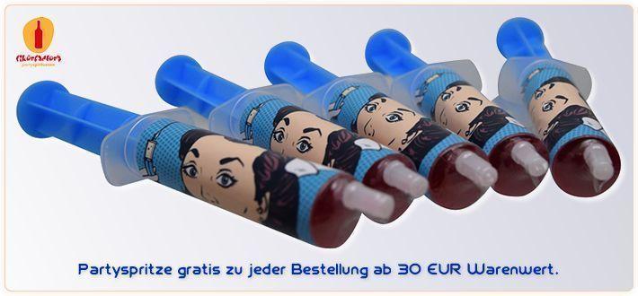 . 20 Banner Partyspritze gratis